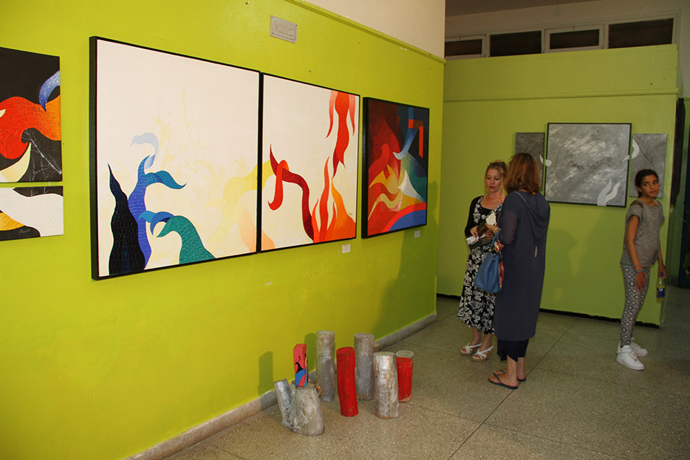 expo individuelle - Passions-Emotions-complexe culturel d'anfa juillet 2014